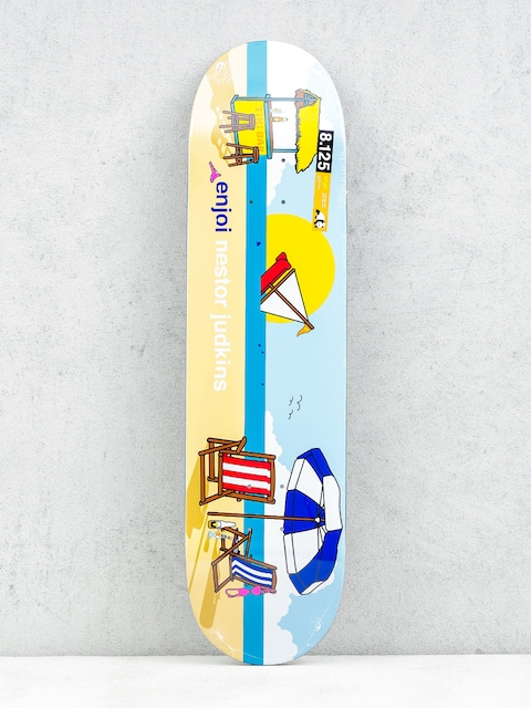 Enjoi Deck Sweet Home Pro R7 Judkins (blue/yellow)