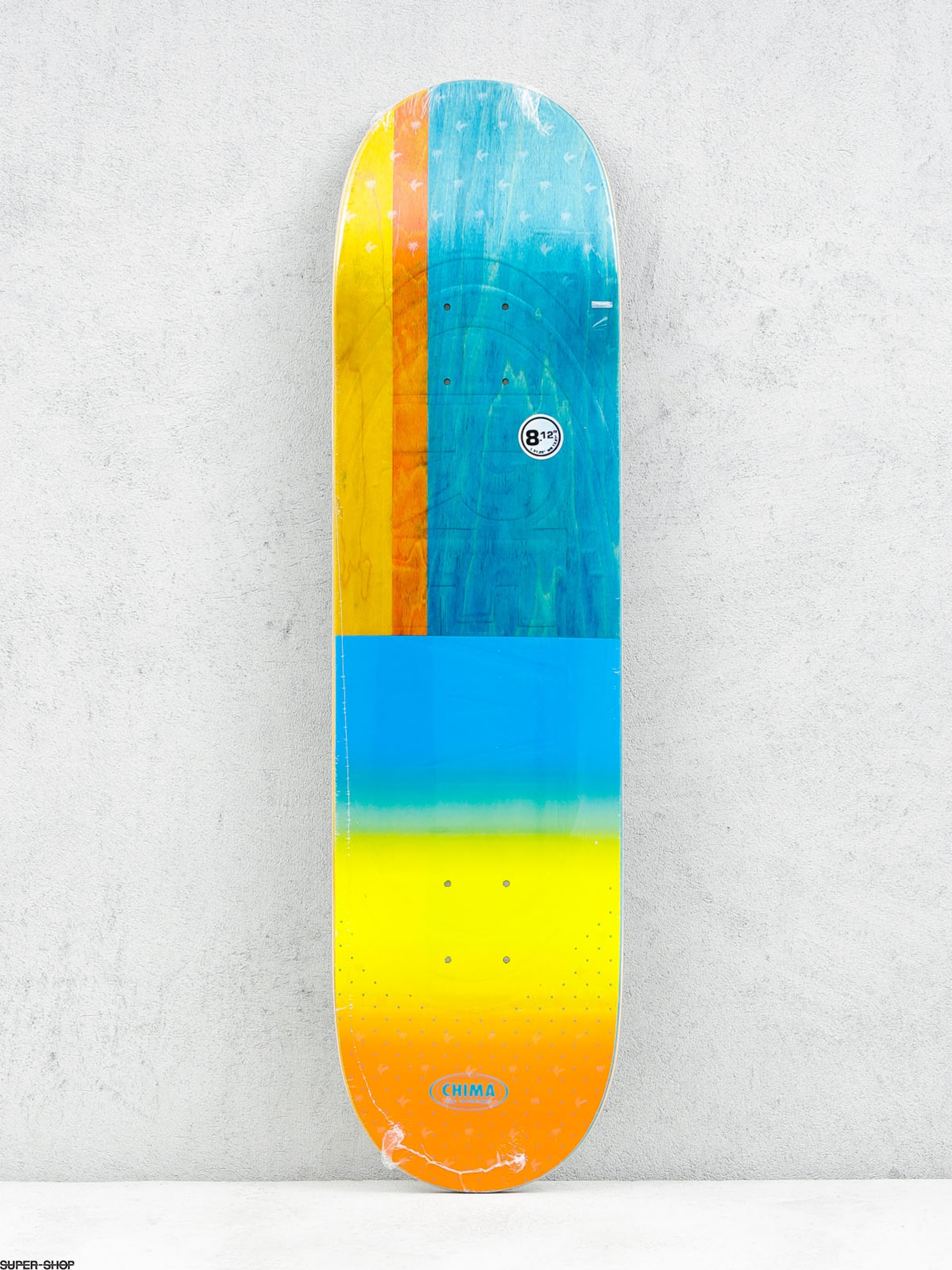 Real Deck Chima Exclusive Embosed (yellow/teal/multi)