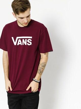 Vans T-shirt Classic (burgundy/white)