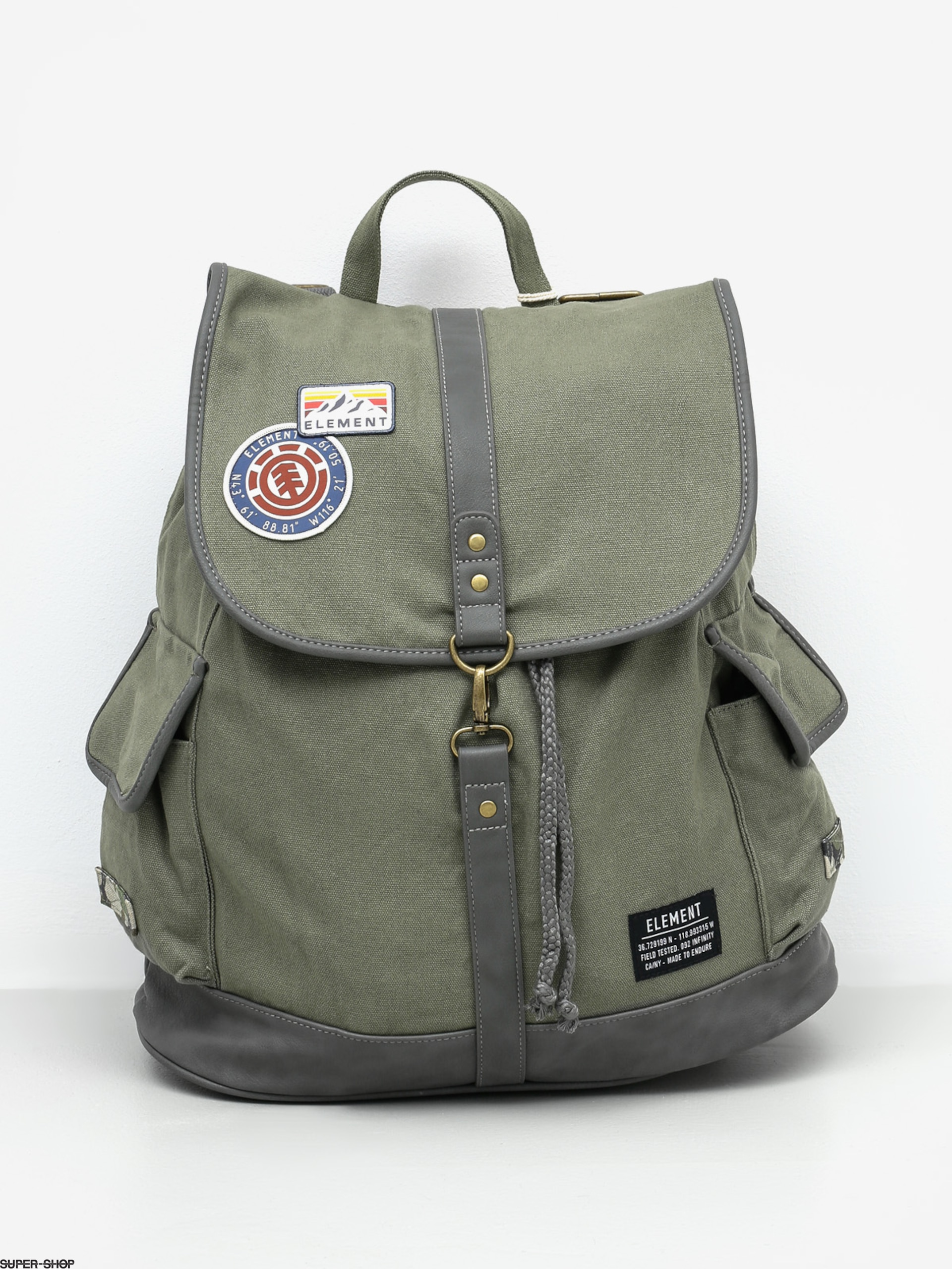 Element Backpack Belong Wmn (moss)