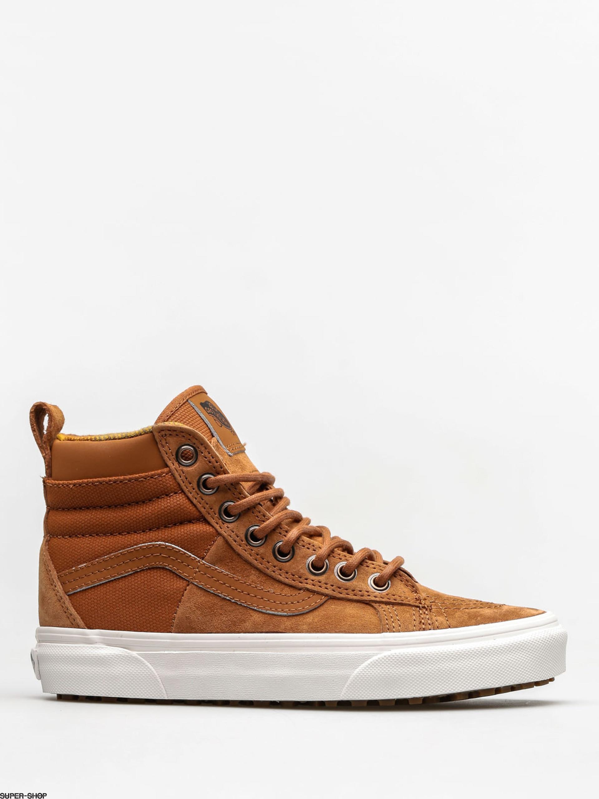 1bc31e97ff8d9 Vans Shoes Sk8 Hi 46 Mte Dx (glazed ginger flannel)