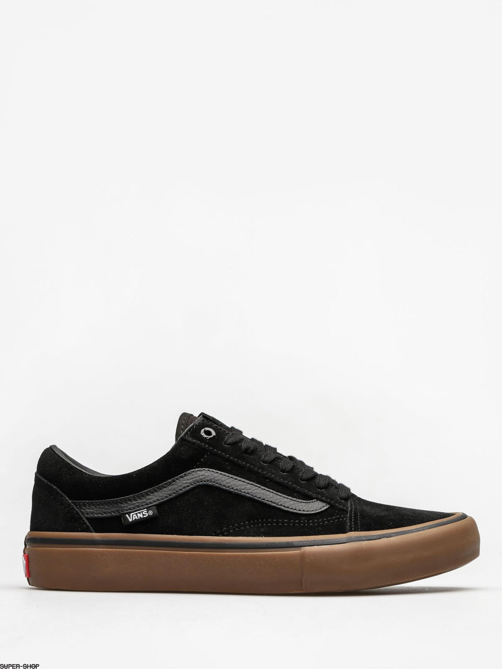 Vans Shoes Old Skool Pro (black/gum/gum)