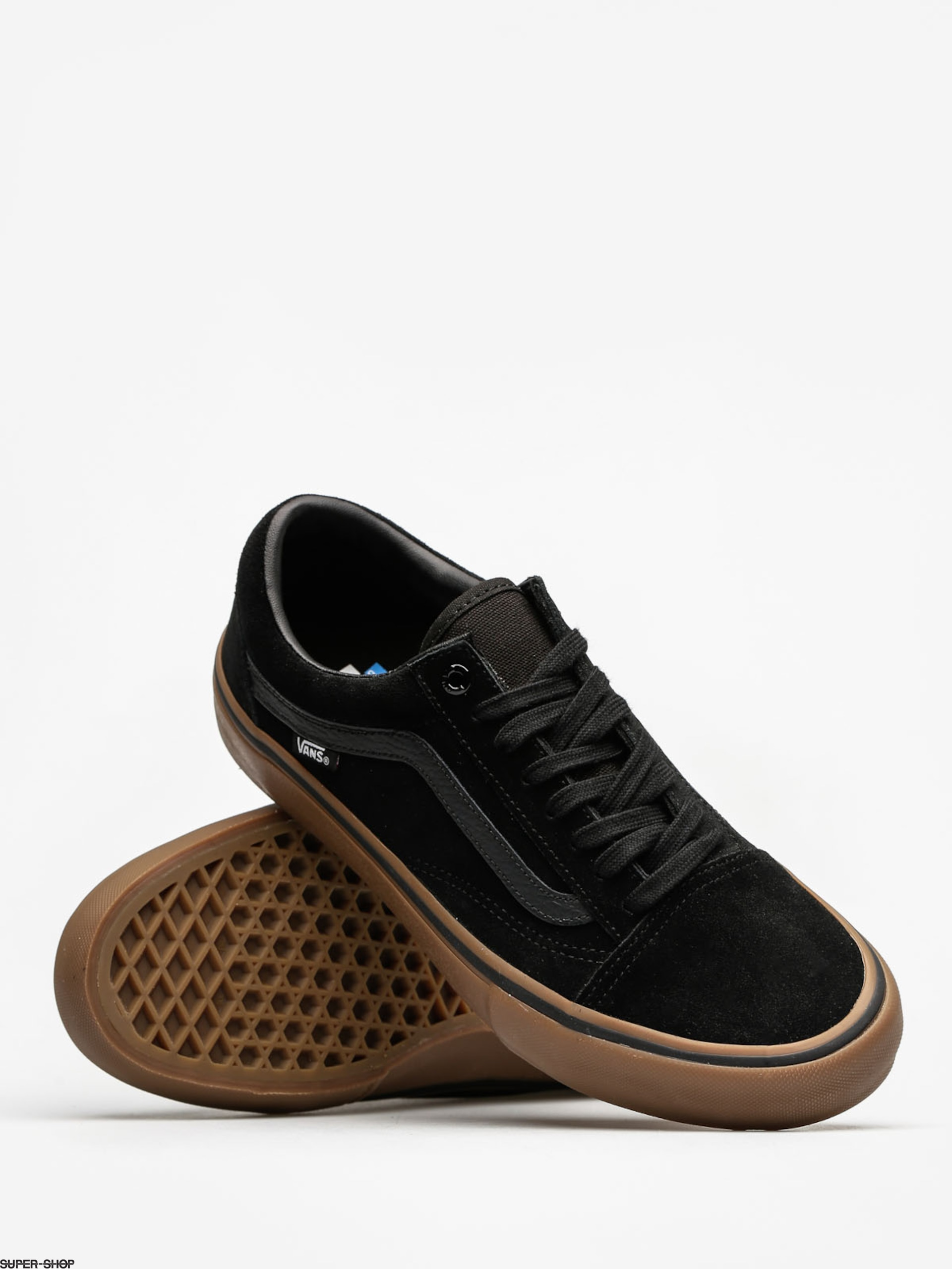 7a778626 Vans Shoes Old Skool Pro (black/gum/gum)