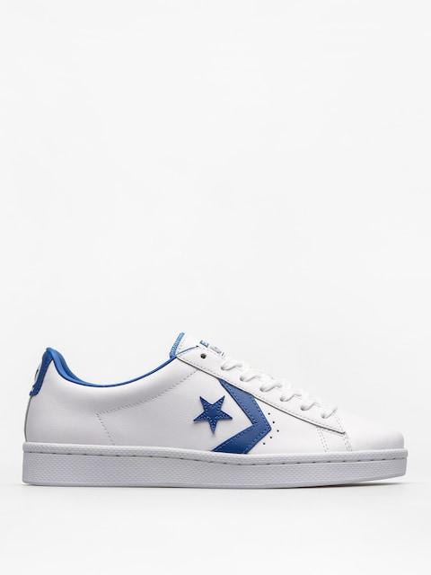 Converse Shoes PL 76 Ox (white/blue jay/white)