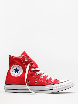 Converse Chucks Chuck Taylor All Star Hi (red)