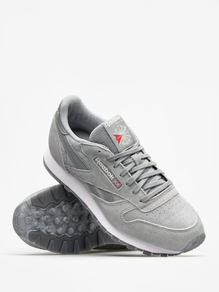Reebok Schuhe Cl Leather Nm (flint grey/white)