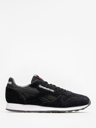 Reebok Shoes Cl Leather Nm (black/white)