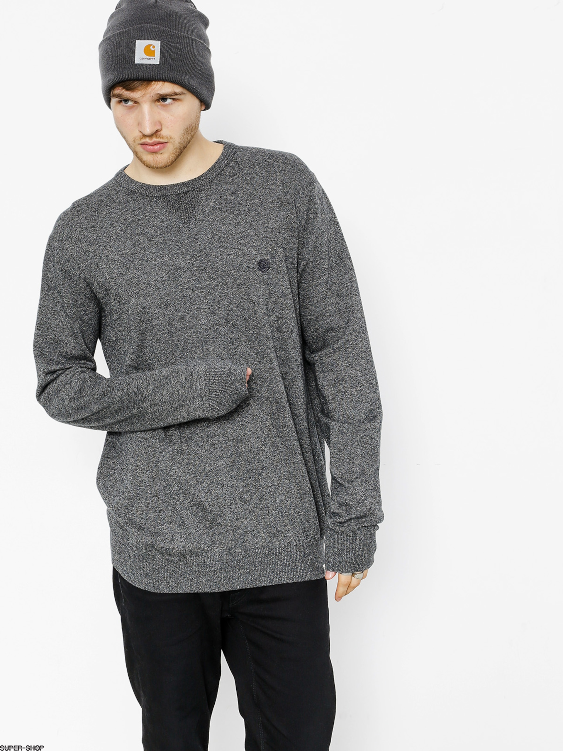 Element Sweater Crew (grey heather)