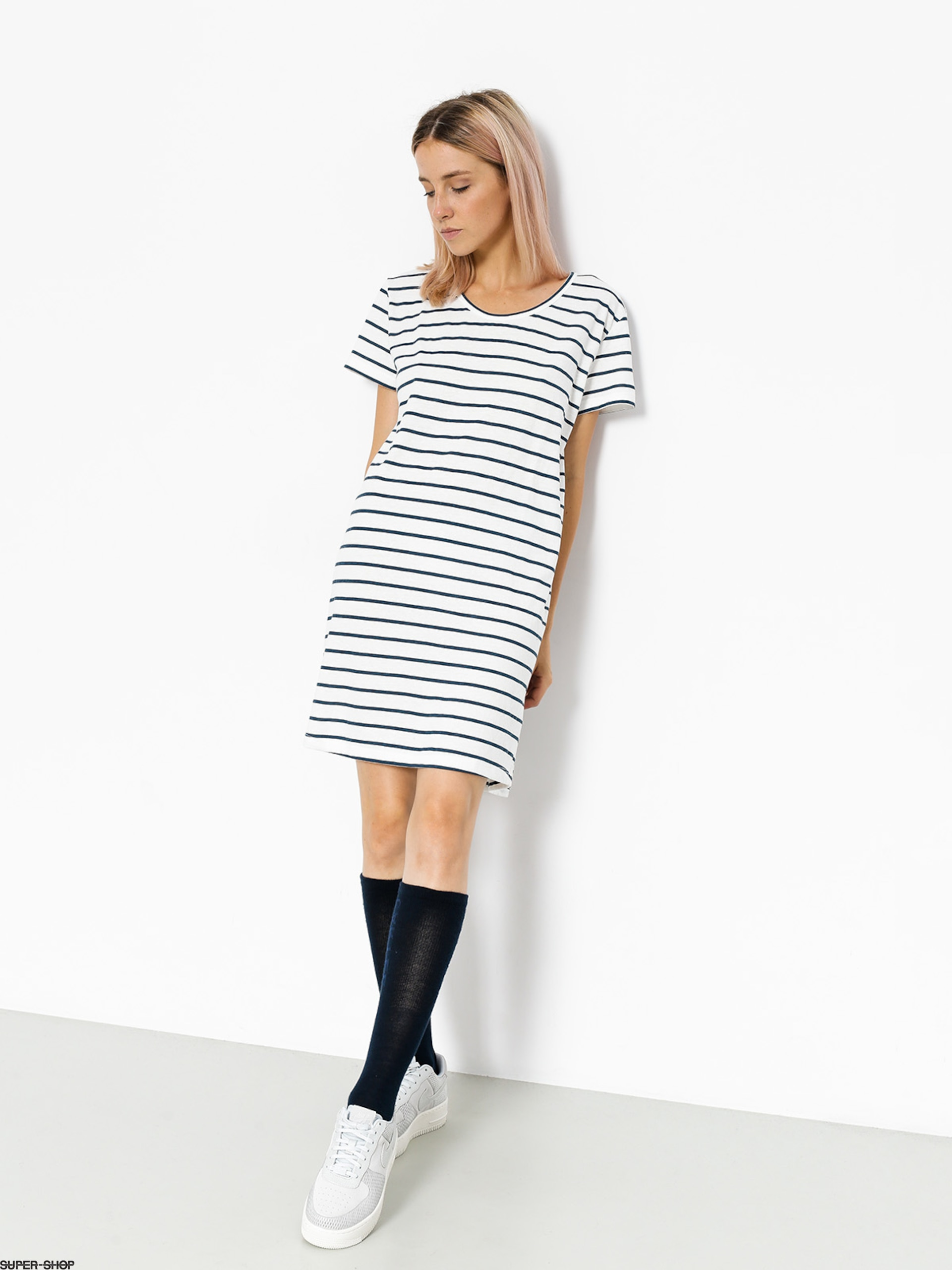 Roxy Kleid Just Simple Stripe Wmn (marshmallow lexi str)