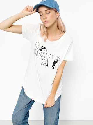 Roxy T-shirt Electric Feel Wmn (marshmellow)