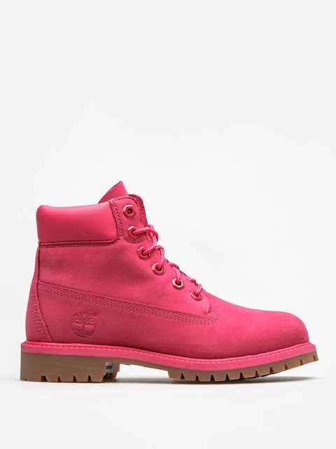 Timberland Kids shoes 6 In Premium Wp (bright pink nubuck)