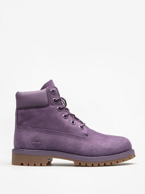 Timberland Kids shoes 6 In Premium Wp (medium purple nubuck)