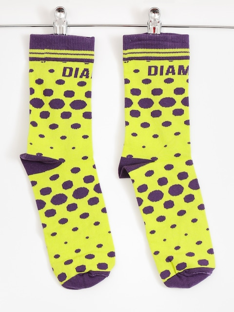 Diamante Wear Socks Toxic (purple/lime)