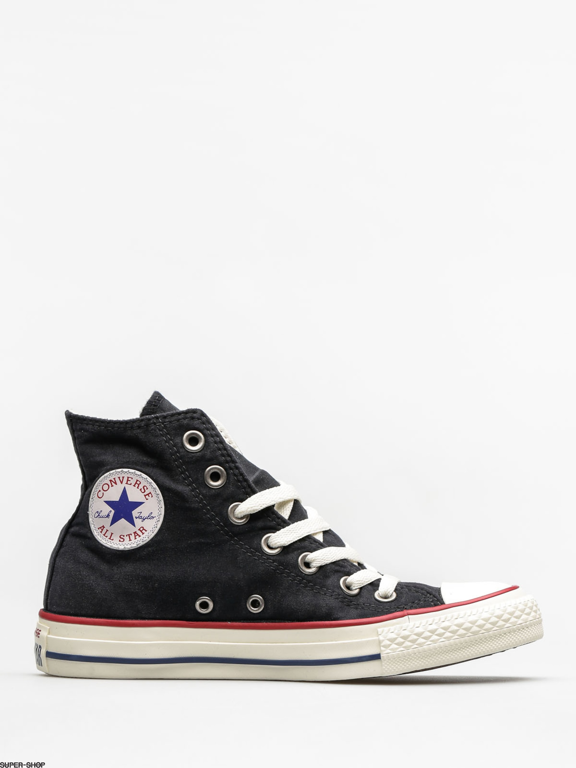 converse chucks chuck taylor all star hi black garnet white. Black Bedroom Furniture Sets. Home Design Ideas
