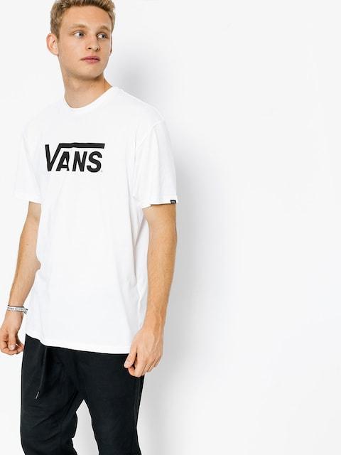 Vans T-shirt Classic (white/black)