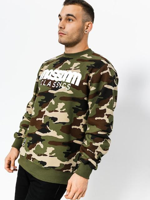 MassDnm Sweatshirt Classics (woodland camo)