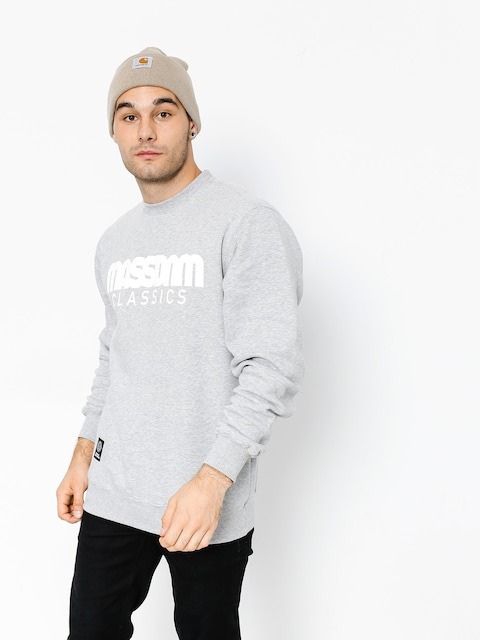 MassDnm Sweatshirt Classics (light heather grey)