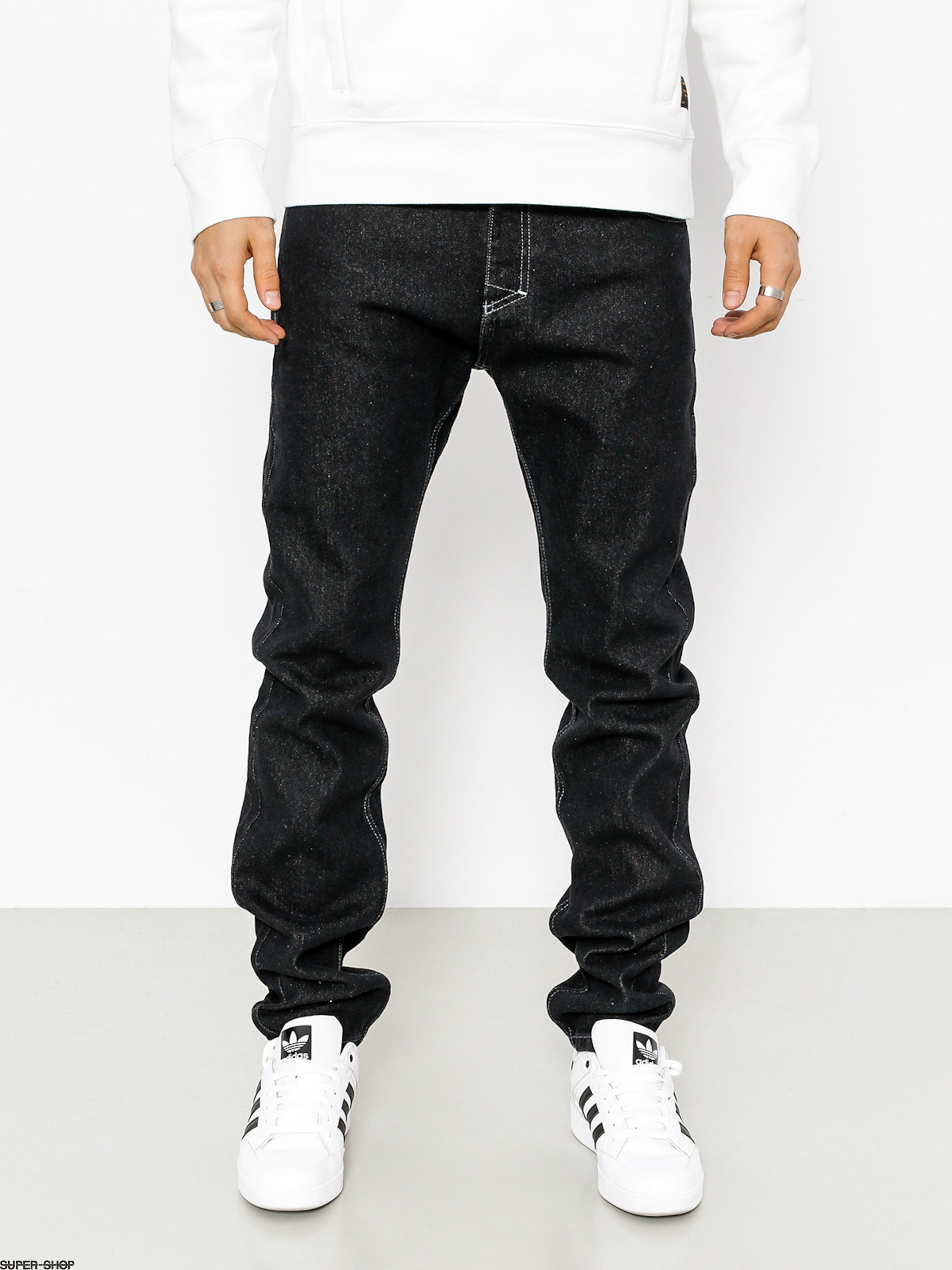MassDnm Pants Signature (black rinse)