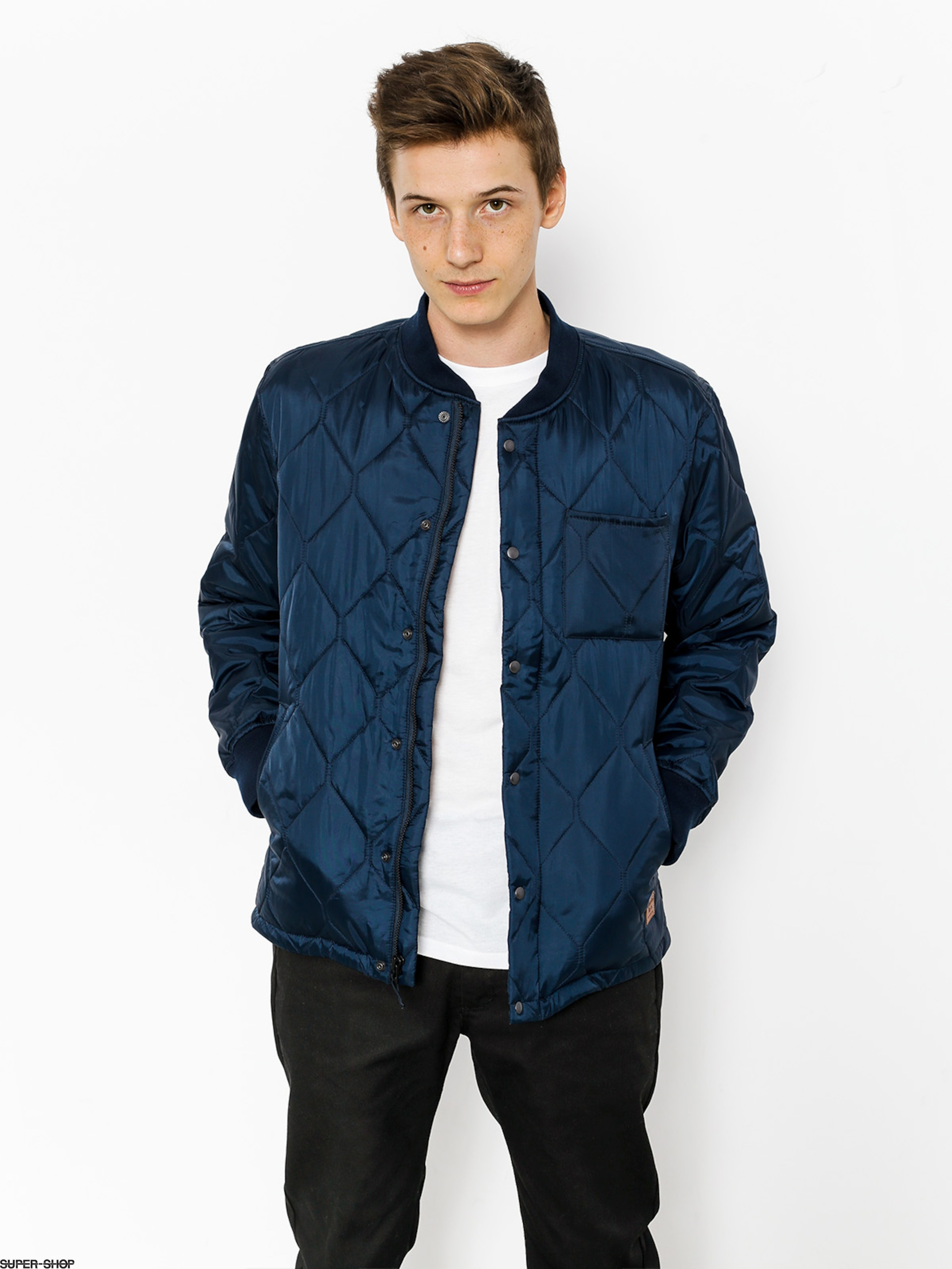 Brixton Jacket Crawford (navy)