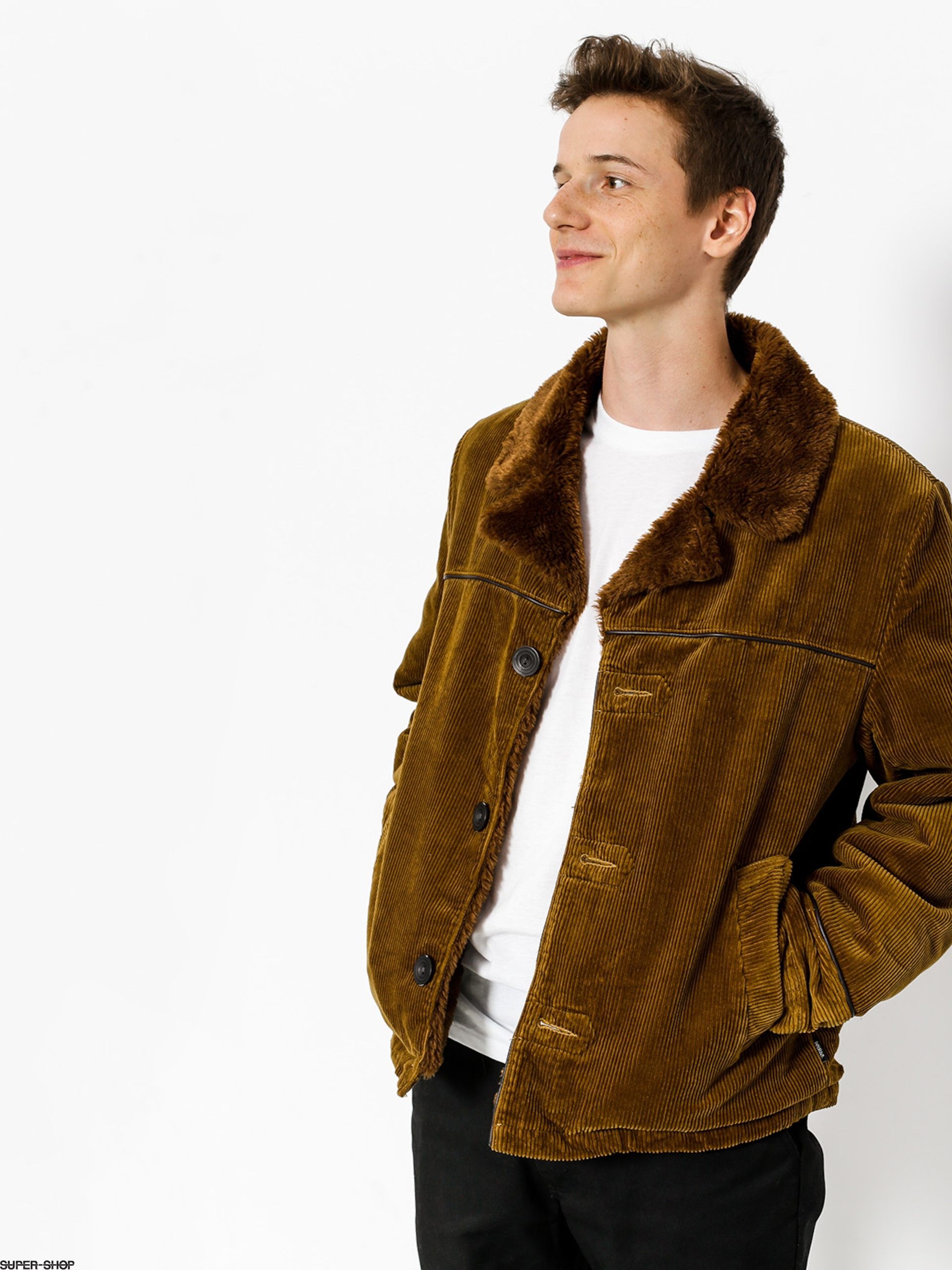 Brixton Jacket Wallace (brass)