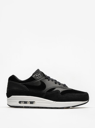 Nike Shoes Air Max 1 (Premium black/chrome off white)