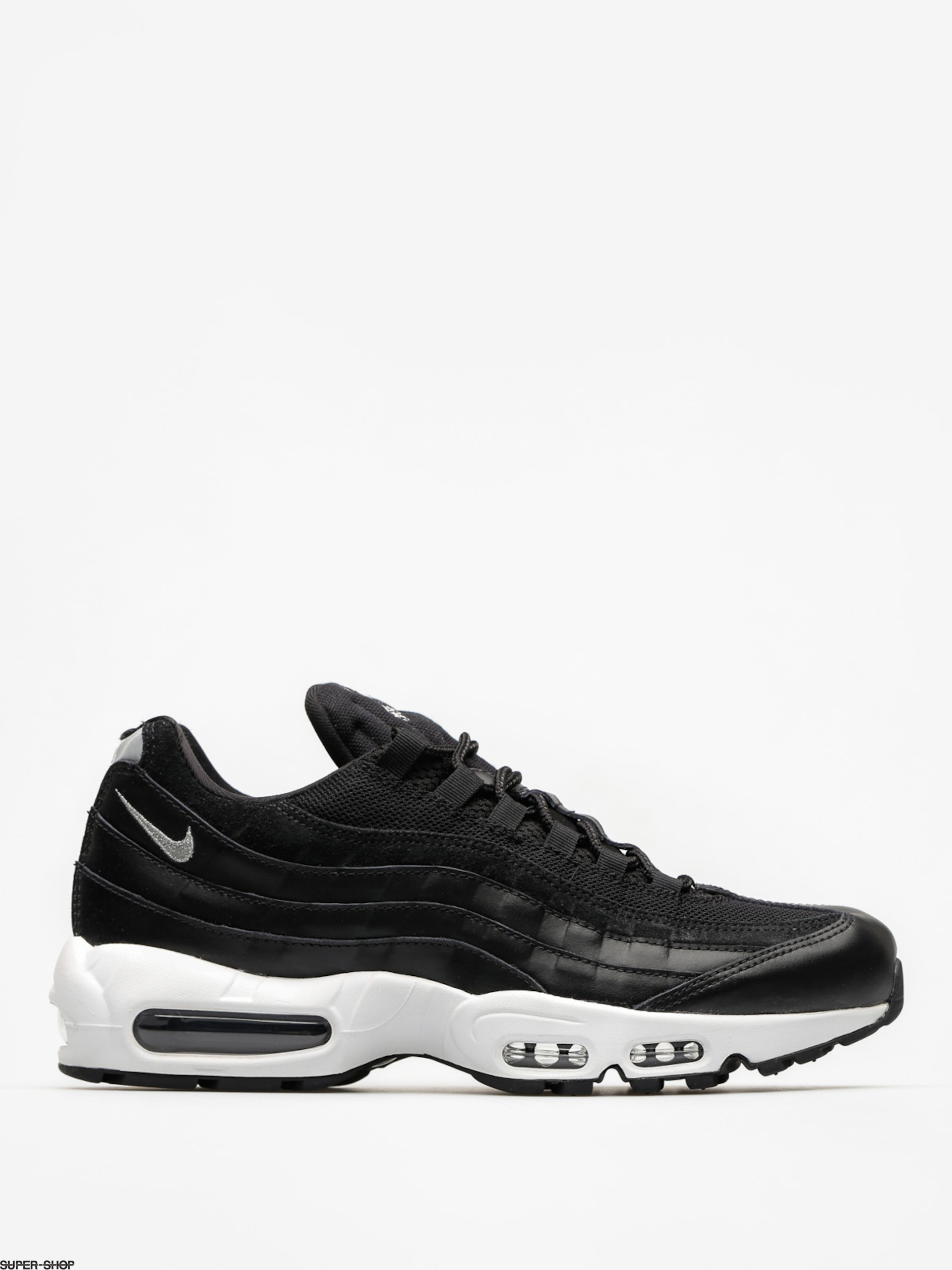 Nike Shoes Air Max 95 Premium (black/chrome black off white)