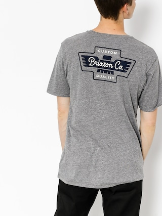 Brixton T-shirt Federal (heather grey)