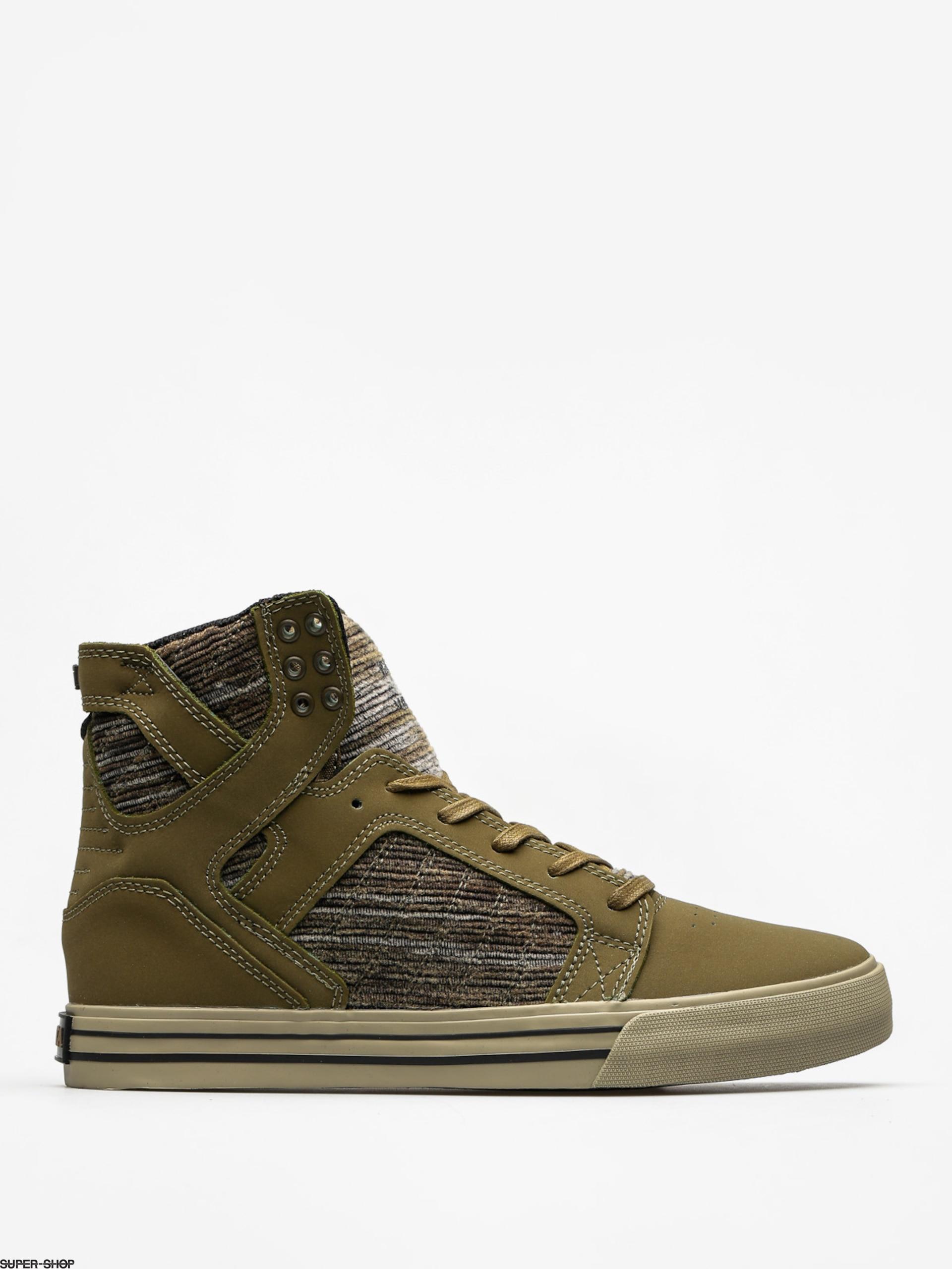 Supra Shoes Skytop (olive multi sage)
