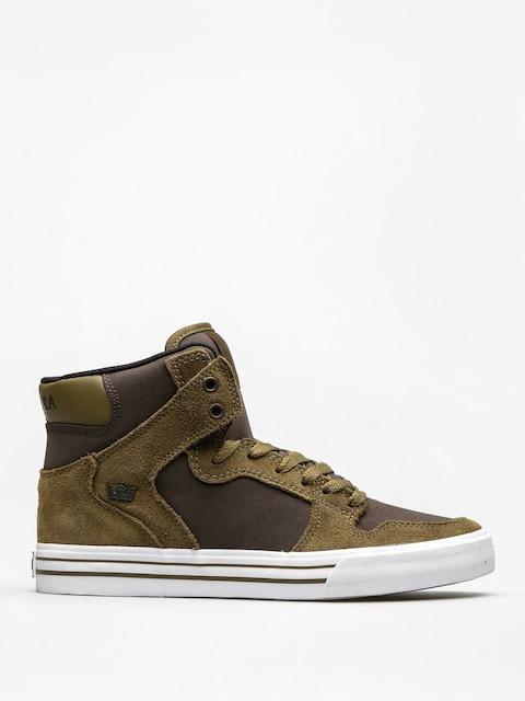 Supra Shoes Vaider (olive/demitasse white)