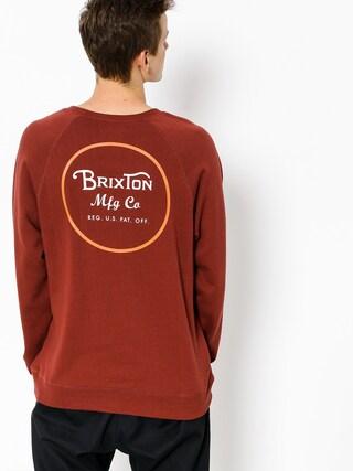 Brixton Sweatshirt Wheeler (brick)
