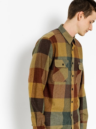 Brixton Shirt Bowery Flannel Ls (rust/copper)