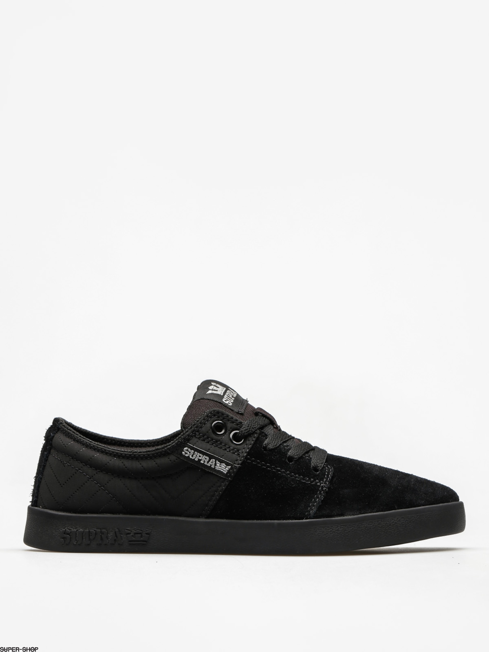 Supra Shoes Stacks II (black/silver black)