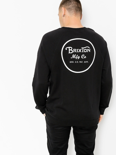 Brixton Sweatshirt Wheeler (black/white)