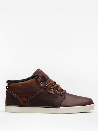 Etnies Shoes Jefferson Mid (brown/white)