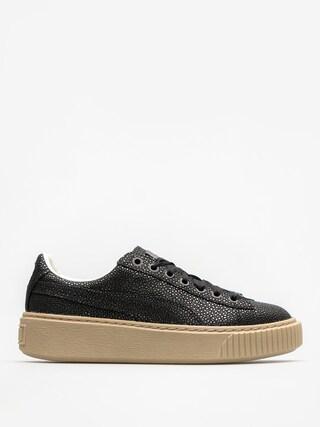 Puma Shoes Basket Platform Lux Wn S Wmn (puma black/puma black)