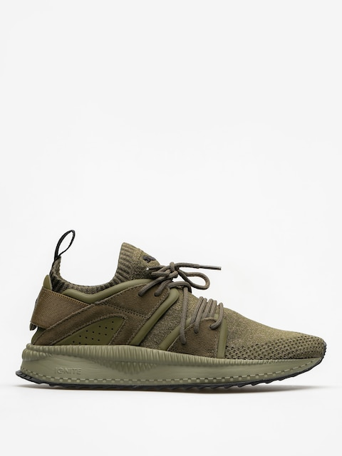 Puma Schuhe Tsugi Blaze Evo Knit (olive night/falcon/olive night)