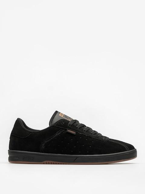 Etnies Schuhe The Scam (black/black/gum)