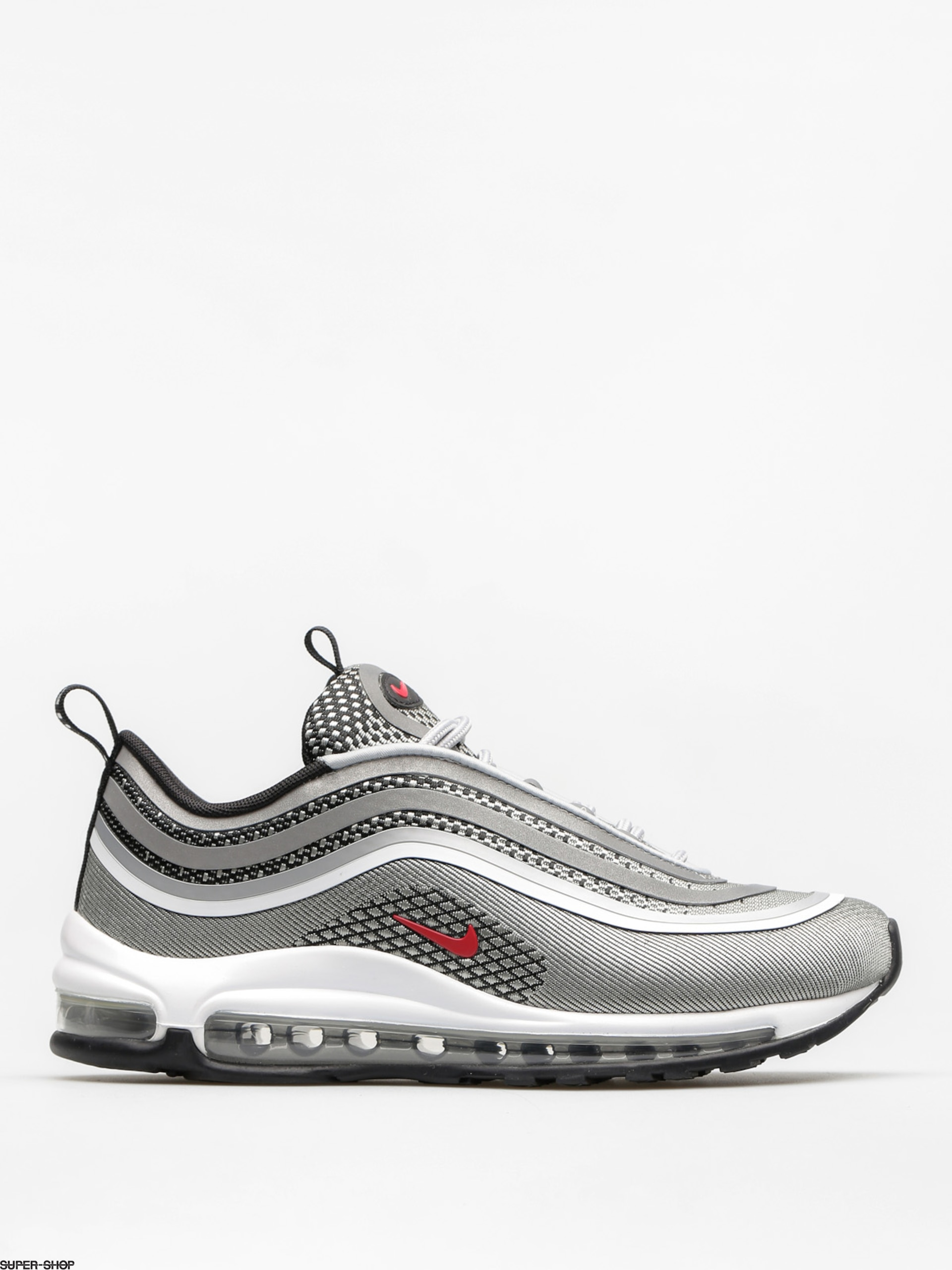 Nike Shoes Air Max 97 Ultra 17 Wmn (metallic silver/varsity red black white