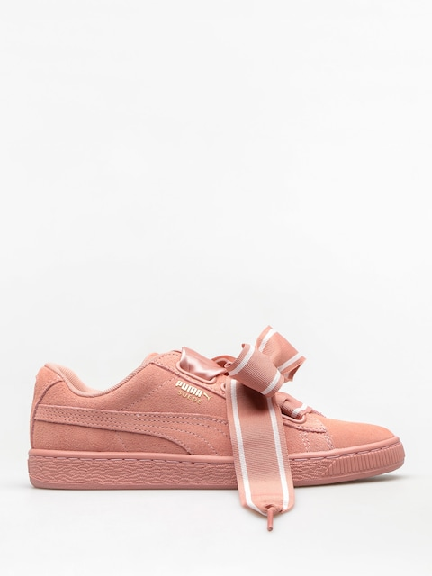 Puma Shoes Suede Heart Satin II Wn S Wmn (cameo brown/cameo brown)