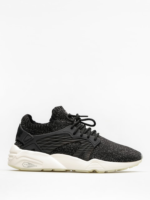 Puma Schuhe Blaze Cage Evo Knit (puma black/steel gray/whisper white)