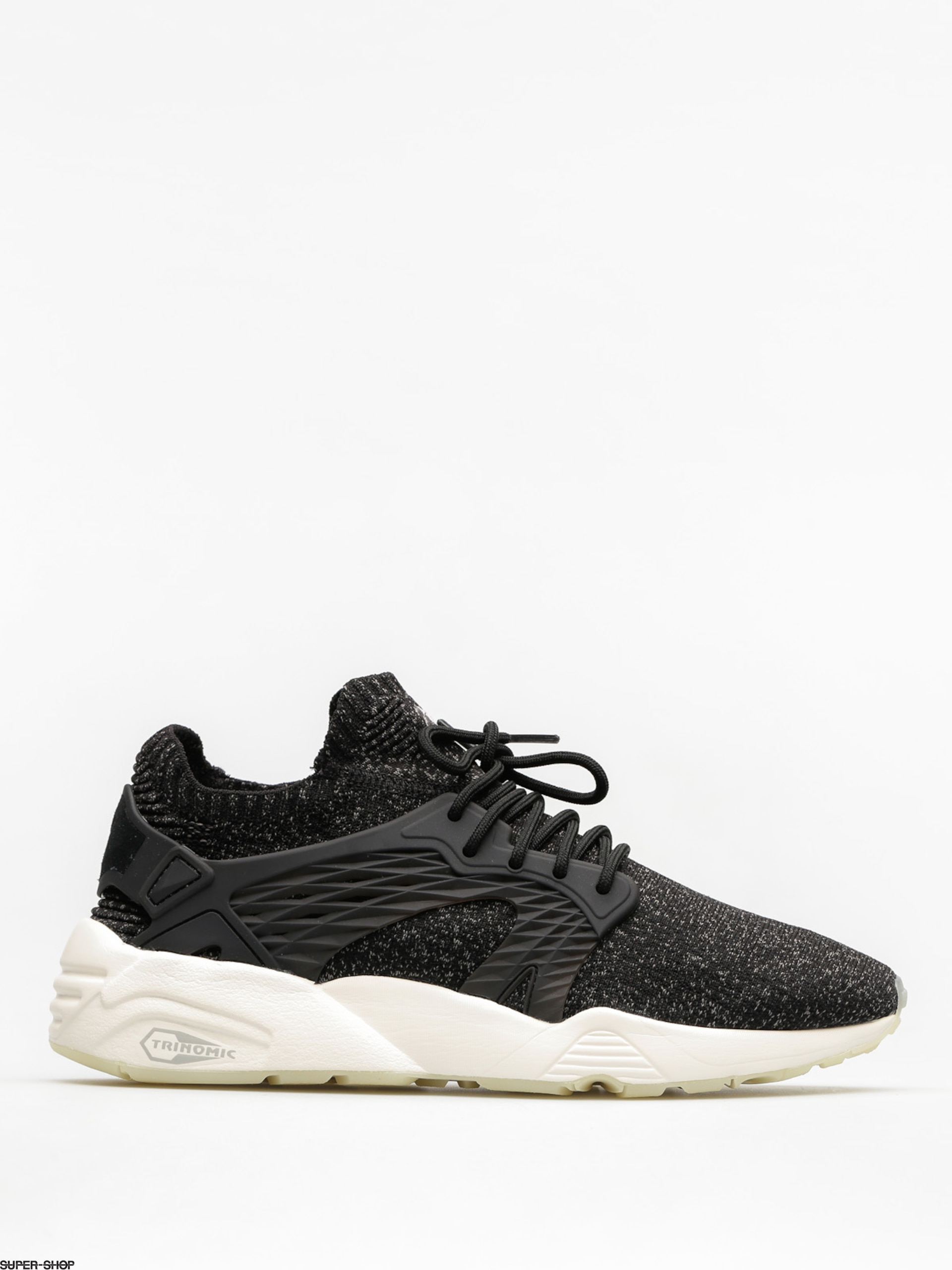 ef761ef6b232 Puma Shoes Blaze Cage Evo Knit (puma black steel gray whisper white)