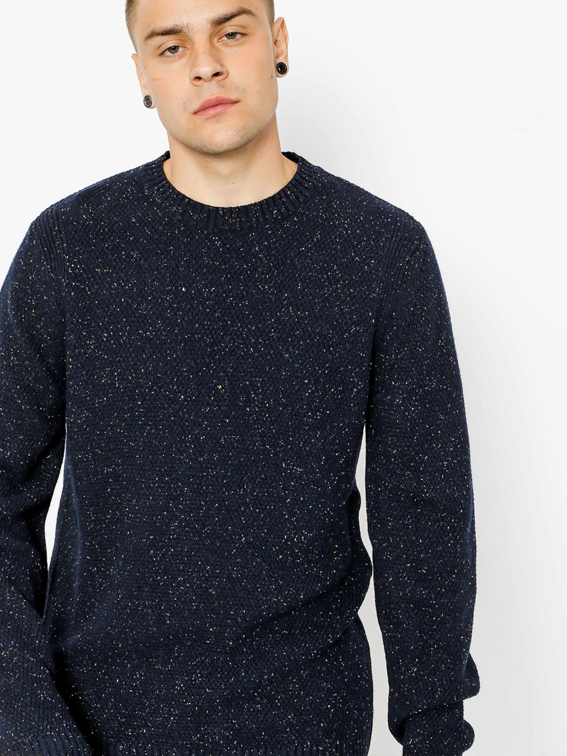 Element Sweater Theron (eclipse navy)