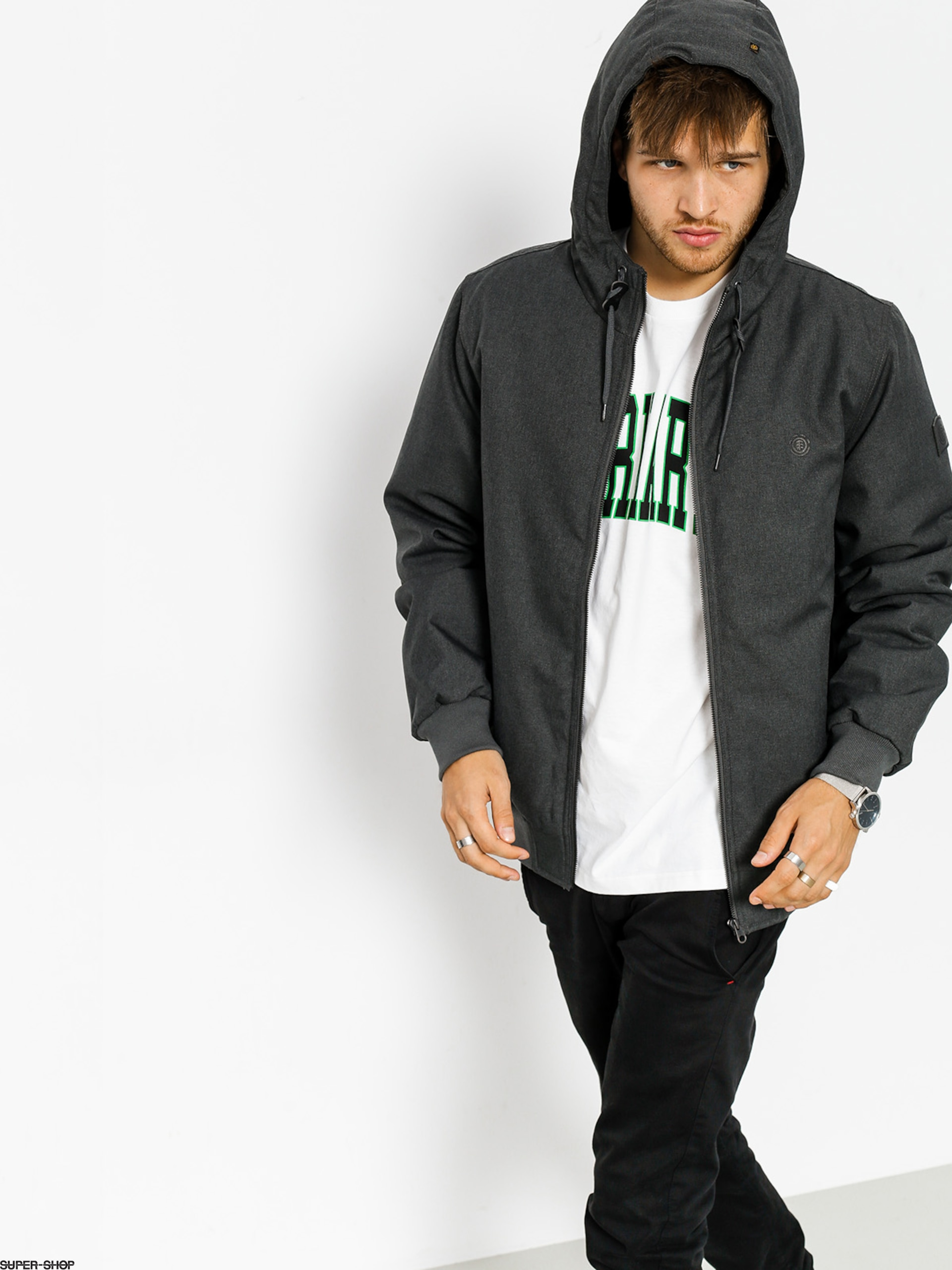 Element Jacke Dulcey (flint black htr)