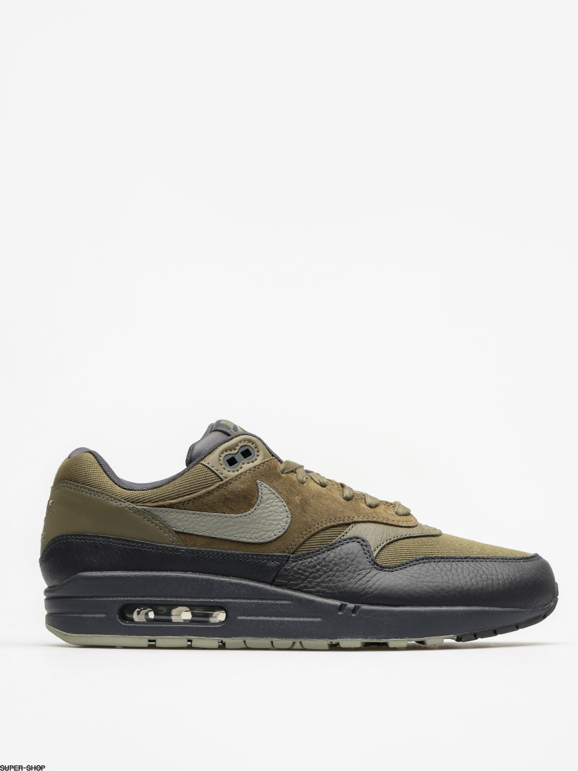 Nike Shoes Air Max 1 (Premium medium olive/dark stucco anthracite)