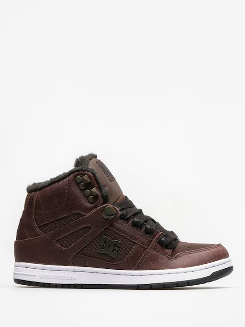 DC Winter shoes Rebound High Wnt Wmn (brown/chocolate)