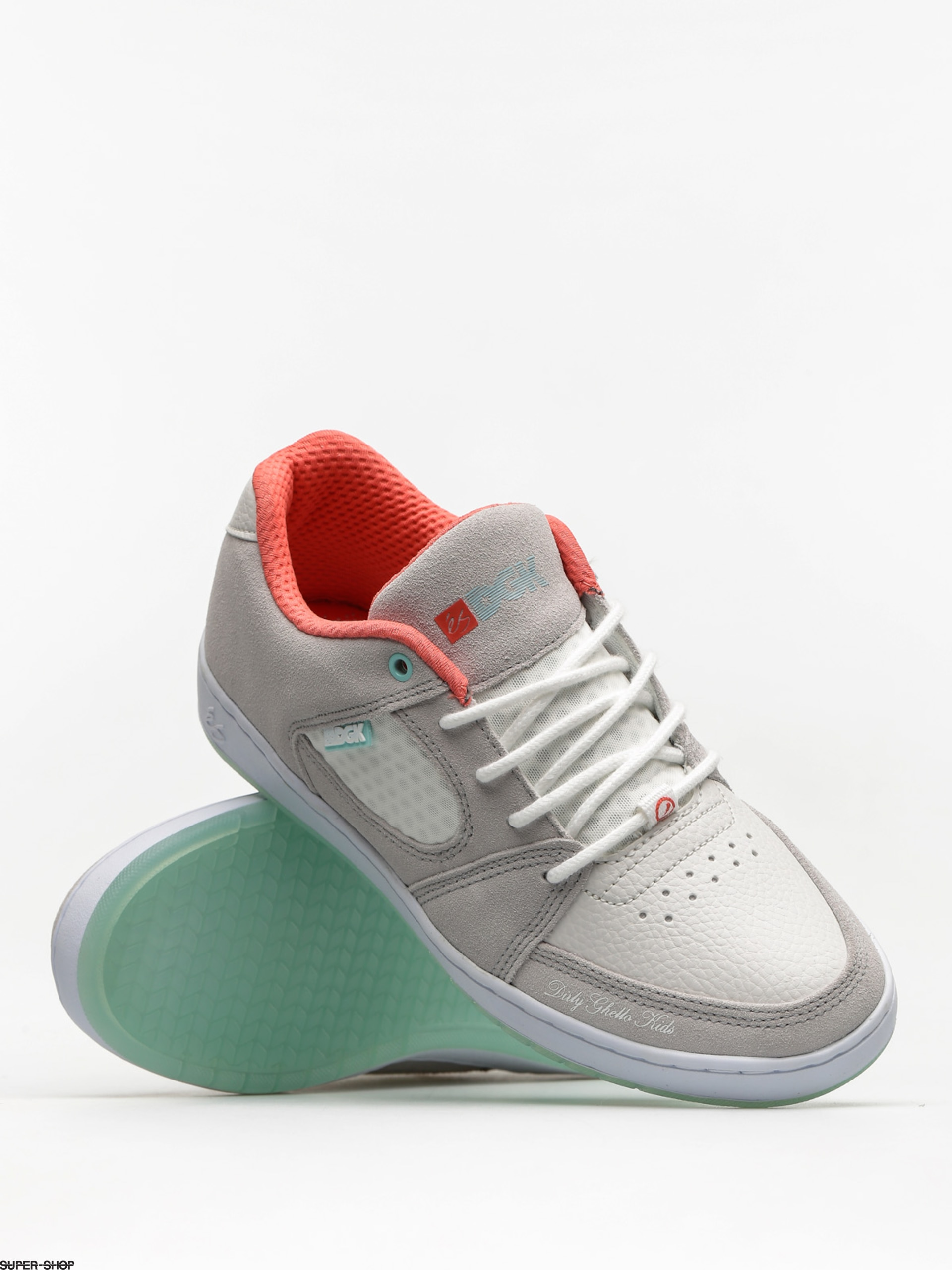 82a6a22ffb227b Es Shoes Accel Slim X Dgk (grey white)