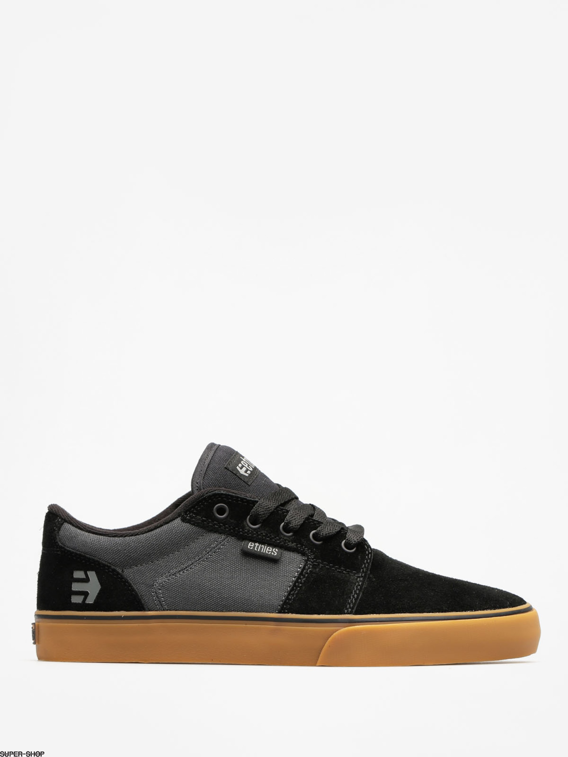 Etnies Schuhe Barge LS (black/dark grey/gum)