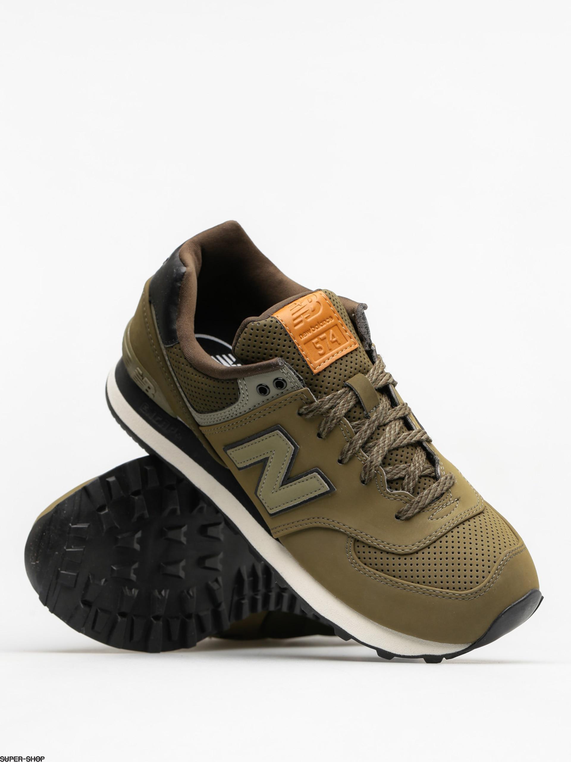 New Balance Shoes 574 (olive)