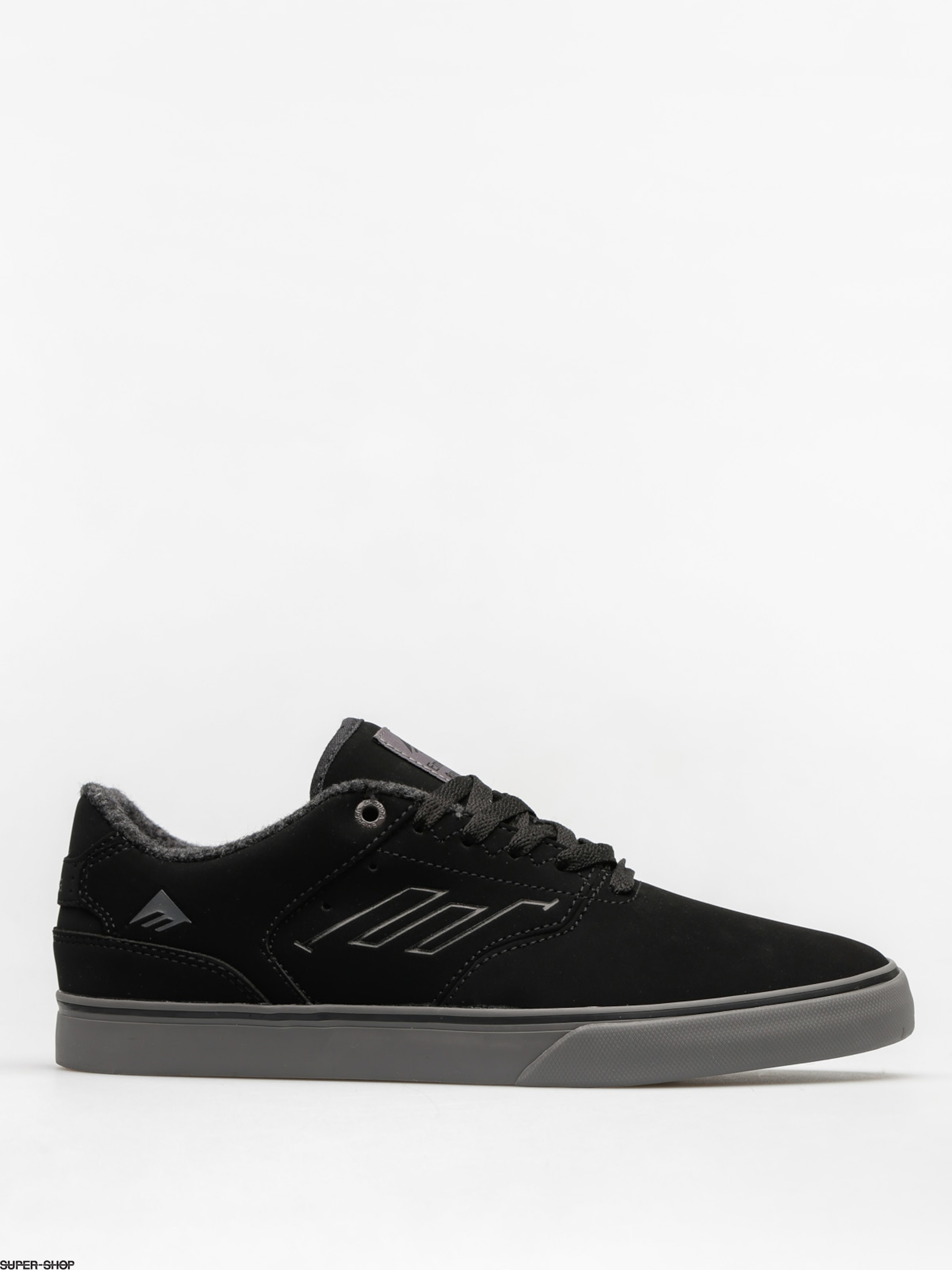 Emerica Shoes The Reynolds Low Vulc (black/grey)