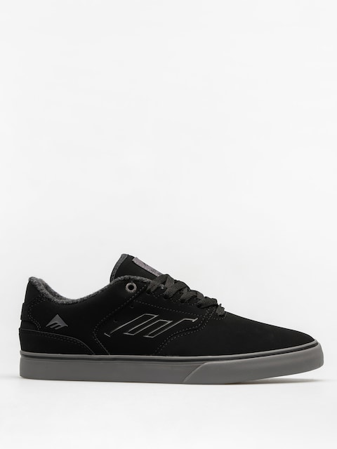 Emerica Schuhe The Reynolds Low Vulc (black/grey)